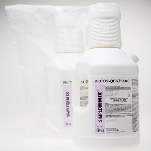 decon quat 200 c concentrated quaternary disinfectant for cleanrooms